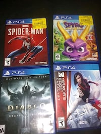 PS4 games, best offer takes them