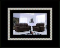 Chocolate microfiber sofa and loveseat Riverdale Park, 20738