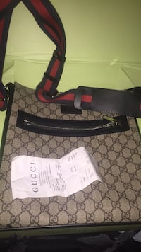 Black and gray gucci monogram tote bag Toronto, M4N 3R5