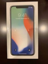 iPhone X Silver 64GB   Washington