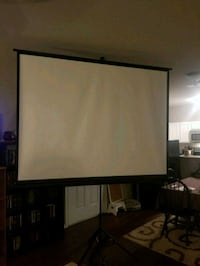 Projector with screen and speaker  Princeton, 75407