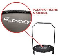 Sunny Health & Fitness 40 Inches Foldable Trampoline with Stabilizing bar Shakespeare
