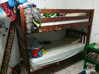 Bunk Bed With Two Twin Mattresses