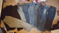 7 pairs of jeans and 4 pairs of dress pantspants Rock Hill, 29730