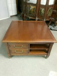 Antique  four drawer coffee table  Ashville