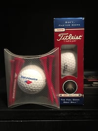 Titleist golf ball 3 set plus throw in New York, 11214