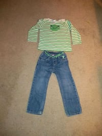 Gymboree Jeans and Froggie Shirt (Size 3) Wildomar, 92595