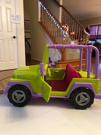 American Girl Doll Sized Jeep Bowie, 20720