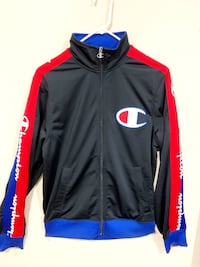 Champion red and Blue design Track jacket Size Small Unisex (everyone) Burnaby, V5J 2A5
