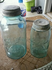 Antique blue glass ball Mason jars with lids Berryville, 22611