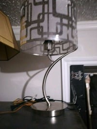 white and black table lamp Welland, L3B 5N5
