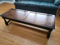 Solid Oak Coffee Table Toronto, M9C 2Y2