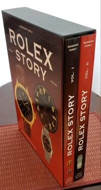 "Reduced $400/Extremely Rare 2-Vol ""Rolex Story"" 300 Copies Worldwide Fairfax, 22031"