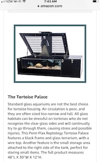 Tortoise Palace.    Like New. Very Clean
