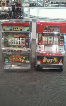 Mini Slot machine gaming ($250 each)