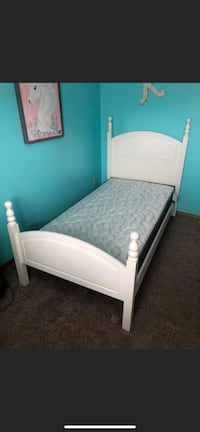Twin bed $100/ Can deliver