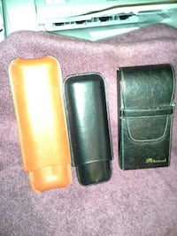Leather Cigar cases (2) remaining West Chester, 19380