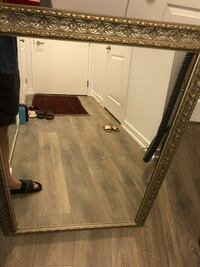 """Room mirror with frame 26"""" wide by 36"""" long"""