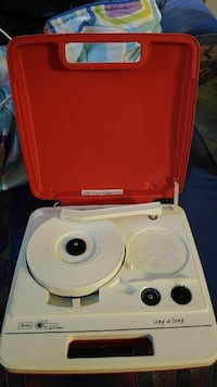 Vintage Sears record player