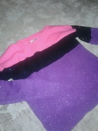 Pink, black, and purple sparkle sweater  Clarksburg, 20871