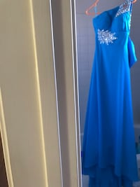 Blue evening gown (Brand new with tags) Reston, 20190