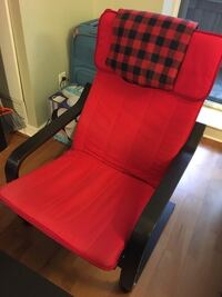 Ikea armchair red color Toronto, M6J 2V2