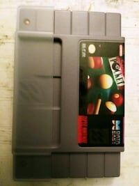 Super Nintendo Pool game $ 15.00 Winnipeg, R2R 2V6