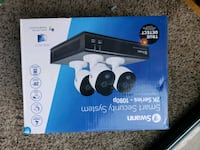 SWANN 4 CAMERA SECURITY SYSTEM