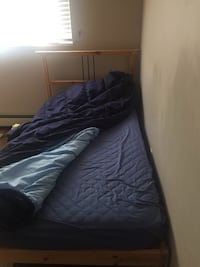 Ikea Bed Matress and frame Vancouver, V5R 1E4