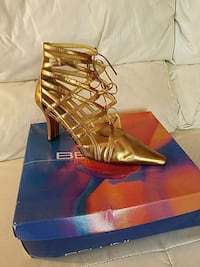 Bellini Womans Gold shoe 233 mi