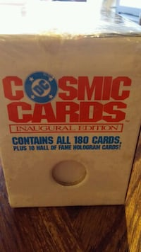 1991 DC Cosmic Cards Inaugural Edition Edmonton, T5A 5B1