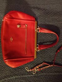 Red coach purse, leather Los Angeles, 90005