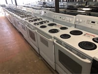 "30"" Gas or Electric Stoves 15% off+ free delivery  Reisterstown, 21136"