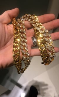 Huge chaine bling 24 inch heavy