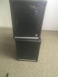 2 Yorkville 200 watts speakers  Vancouver, V6H 1Z8
