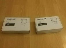two Magnarp boxes
