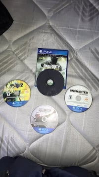 Four PS4 Games  Muskegon, 49441