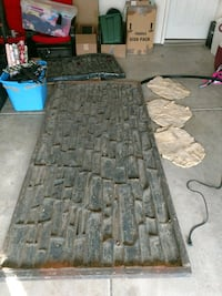 Concrete texture mats & stacked stone rubber molds Clearfield, 84015