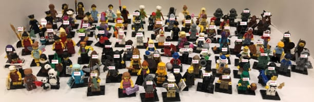 Used Lego Collectible Minifigs