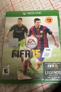 FIFA 15 Xbox one Havertown, 19083