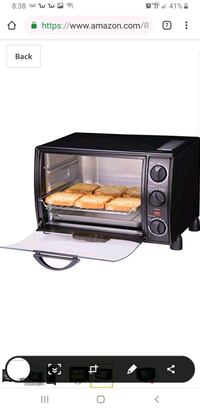 Rosewell toaster oven