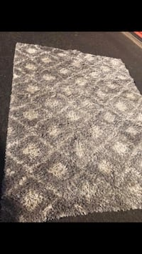 gray and white area rug Eugene, 97403