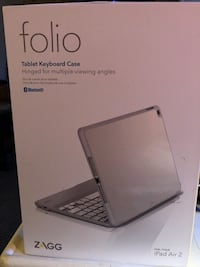 folio/ ZAGG iPad Air 2 keyboard