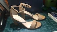 Kelly & Katie heels- nude; size 8; worn only once! Chevy Chase, 20815