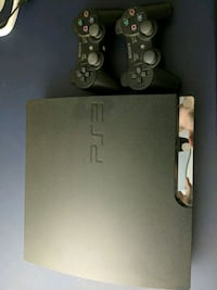 PS3 Slim with two controllers Glendale, 91214