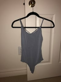 Women's blue spaghetti strap body suit bought from garage  Ajax, L1Z 1P4