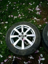 16 in tire with rim and tire Martinsburg, 25404