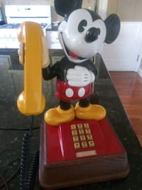 Vintage Mickey Mouse Phone&Lamp Combo Lancaster, 17601