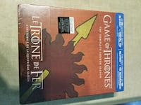 Game of thrones s4 bluray special packaging  Surrey, V4P 0C3