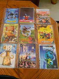 Kids DVD Movie collection $45